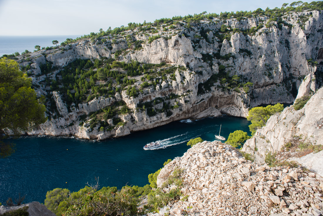 Hiking The Calanques In Cassis Through Ting S Lens